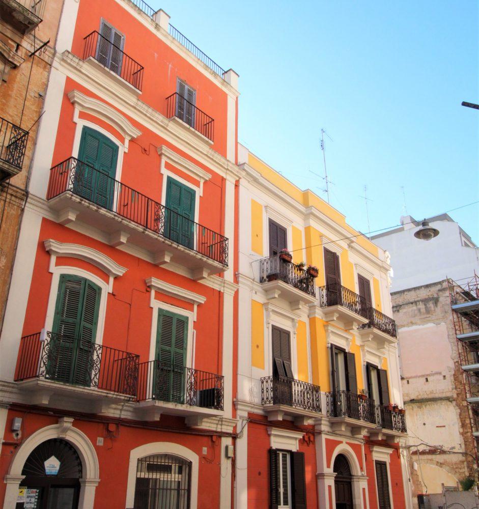 Bari , Via Garruba – Rifinito 2 vani con cortile